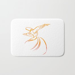 Sema The Dance Of The Whirling Dervish Bath Mat