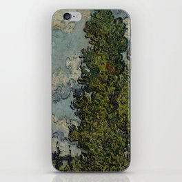 Cypresses and Two Women iPhone Skin