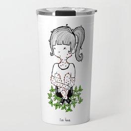 Poison Ivy by Sarah Pinc Travel Mug
