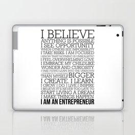 Entrepreneur Manifesto Laptop & iPad Skin