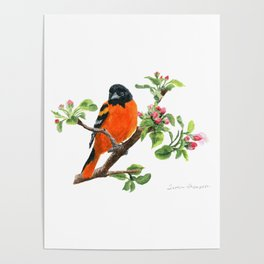 Orchard Prince by Teresa Thompson Poster