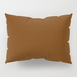 Delirious Place ~ Gingerbread Brown Pillow Sham
