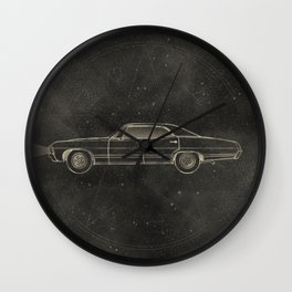 Supernatural: Impala Wall Clock