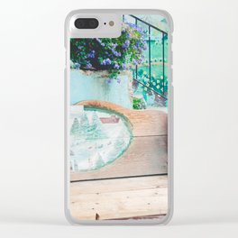 Leavenworth Bench Clear iPhone Case