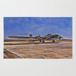 B-17 Flying Fortress Rug