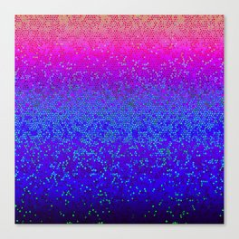 Glitter Star Dust G248 Canvas Print