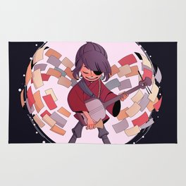 Kubo and the Two Strings Rug