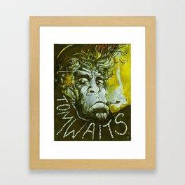 Tom Waits Framed Art Print