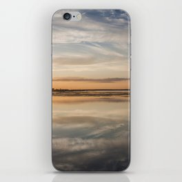 Baltic sea and sunset iPhone Skin