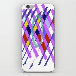 Abstract Checkboard iPhone Skin