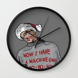 Tony (The Dead Guy In The Elevator In Die Hard) Wall Clock