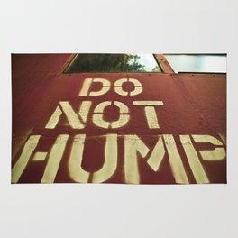 No Humping  Rug