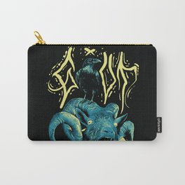 Goat Raven Carry-All Pouch