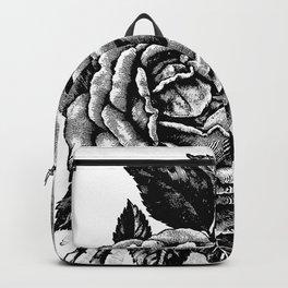 Two Vintage Roses Backpack