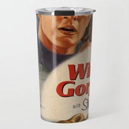 Winter Gorgon Travel Mug