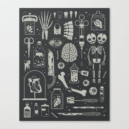 Oddities: X-ray Canvas Print