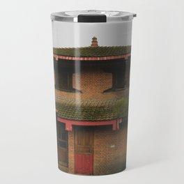Kathmandu City Roof Tops - Architecture 07 Travel Mug
