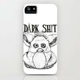 Dark Sh!t iPhone Case