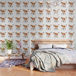 Cartoon cow Wallpaper
