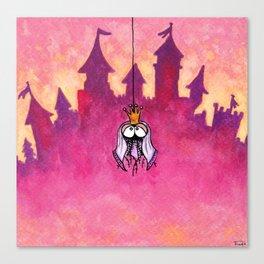 Little spiderprincess Canvas Print