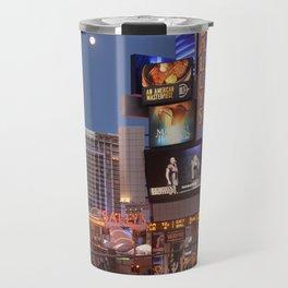 Las Vegas moon Travel Mug