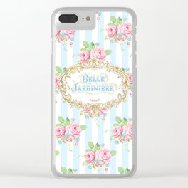 Belle Jardiniere Clear iPhone Case