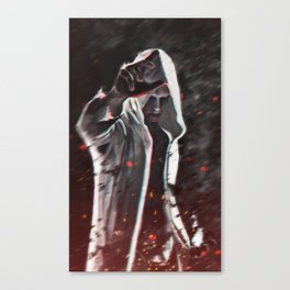 There is a fire inside of this heart Canvas Print