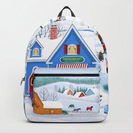 Wintertime in Sugarcreek Backpack