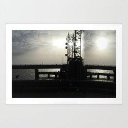 The Timeless Bridge Art Print