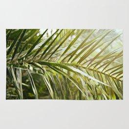 Palm Leaf in the Light Rug