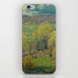 Budding Maples by John F. Carlson (1874-1945) iPhone Skin