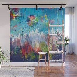 colorful forest 3 Wall Mural