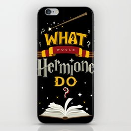 What Would Hermione Do? iPhone Skin