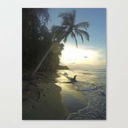 Punta Uva, Costa Rica Canvas Print