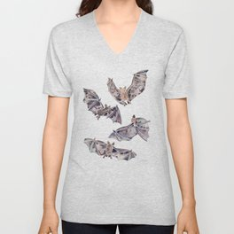 Bat Collection Unisex V-Neck