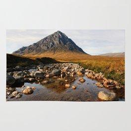 Buchaille Etive Mor Mountan Glencoe Scotland Rug