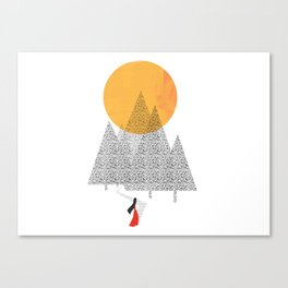 Walkthrough Canvas Print
