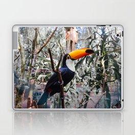 Toucan in Iguazu Falls, Argentina Laptop & iPad Skin