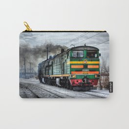 Diesel Train Locomotive Carry-All Pouch