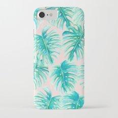 Paradise Palms Blush iPhone 7 Slim Case