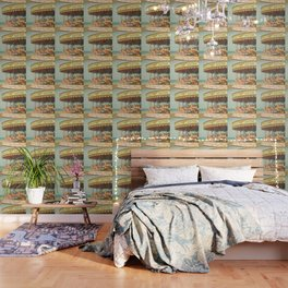 Seaside Carousel Wallpaper