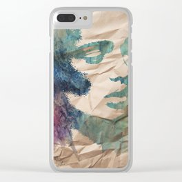 """""""forever my utopia"""" art by weart2 Clear iPhone Case"""