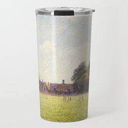 Camille Pissarro Hampton Court Green Travel Mug