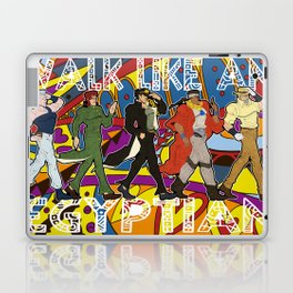 Walk Like an Egyptian Laptop & iPad Skin