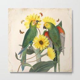 Oh My Parrot II Metal Print