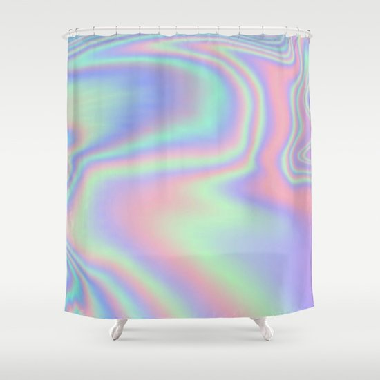 Iridescent Shower Curtain By Rachel5775