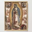 Virgin of Guadalupe, 1700 by fineearthprints