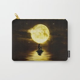 Beauty Mermaid Starry Night Carry-All Pouch