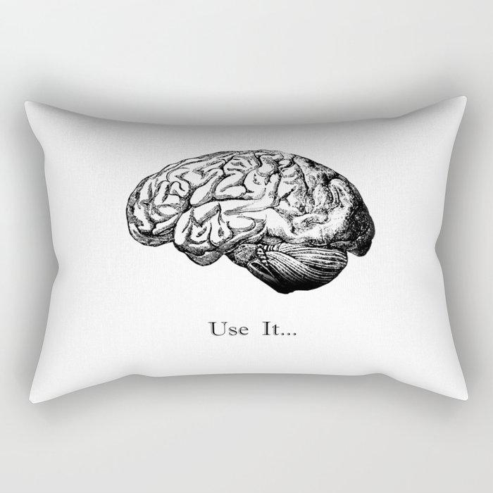 Brain Anatomy - Use It Rectangular Pillow