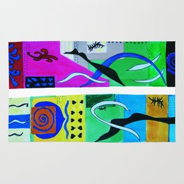 inspiration from Matisse . Gift Ideas ( https://society6.com/vickonskey/s?q=popular+prints ) Rug